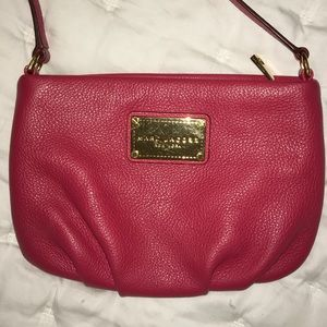Marc Jacobs Crossbody Pebbled Leather Purse